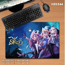 Witch Spring big mouse pad