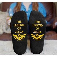The Legend of Zelda cotton socks a pair