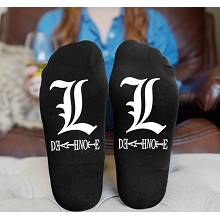 Death Note anime cotton socks a pair