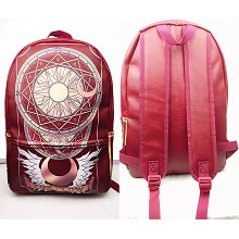 Card Captor Sakura anime backpack bag