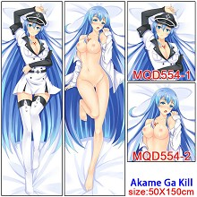 Akame ga kill anime two-sided sexy long pillow