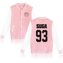 BTS SUGA 93 cotton thick hoodie coat jacket cloth