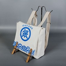 Gintama anime canvas backpack bag