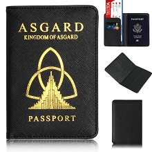 Black Panther Passport Cover Card Case Credit Card...