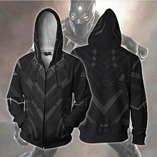 Black Panther 3D printing hoodie sweater cloth