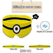 Despicable Me anime eye path blinder over ears a s...