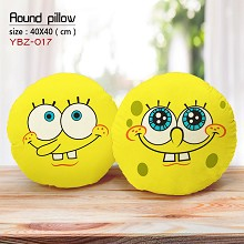 Spongebob anime round pillow
