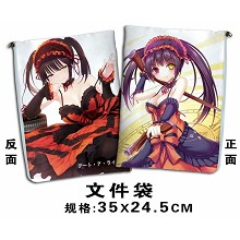 Date A Live anime documents bag pen bag