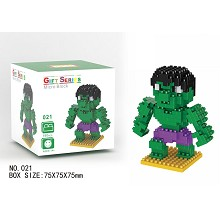 The Avengers Hulk Building Blocks 190PCS