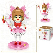 Card Captor Sakura anime Building Blocks 760PCS