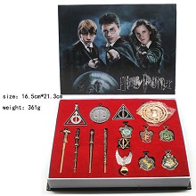 Harry Potter key chains a set