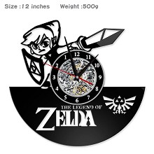 The Legend of Zelda game wall clock