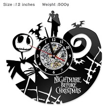 The Nightmare Before Christmas wall clock