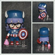 Dr.Slump Alrale cos Captain America figure