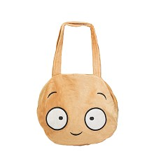 Plants vs Zombies plush satchel shoulder bag