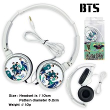 BTS star headphone