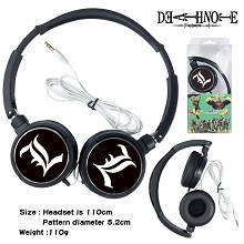 Death Note anime headphone