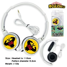 My Hero Academia anime headphone