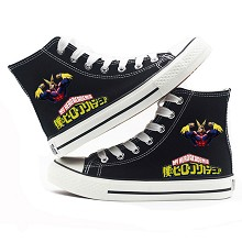 My Hero Academia anime canvas shoes student plimsolls a pair