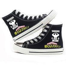 My Hero Academia anime canvas shoes student plimso...