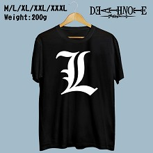 Death Note cotton T-shirt