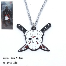 Friday the 13th movie necklace