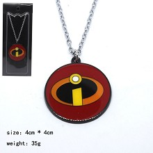 The Incredibles movie necklace