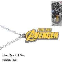 The Avengers movie necklace