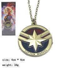 Captain Marvel movie necklace