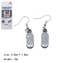Nintendo game earrings a pair