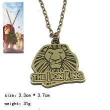 The Lion King movie necklace