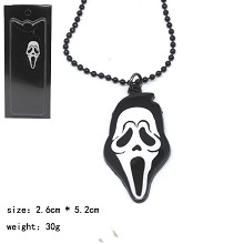 The skeleton anime necklace