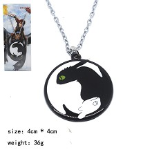 Train Your Dragon movie necklace