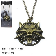 The Witcher game necklace
