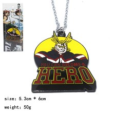 My Hero Academia anime necklace