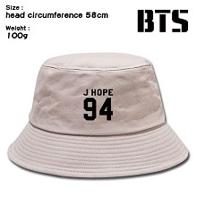 BTS star bucket hat cap