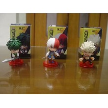 My Hero Academia figures set(3pcs a set)