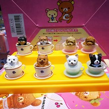 The dogs figures set(8pcs a set)