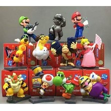 Super Mario figures set(11pcs a set)