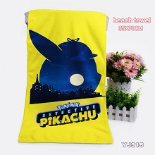 Pokemon anime beach towel bath towel