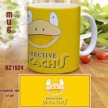 Pokemon Detective Pikachu movie cup mug