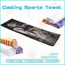 Alita Battle Angel cooling sports towel