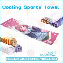 Gotoubun no hanayome anime cooling sports towel