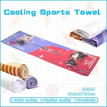 Kaguya-sama anime cooling sports towel