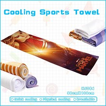 Captain Marvel movie cooling sports towel