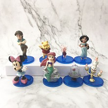 Disney Princess figures set(8pcs a set)