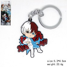 My Hero Academia Todoroki Shoto anime key chain