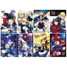 Fate stay night anime posters(8pcs a set)