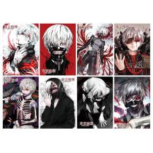 Tokyo ghoul anime posters(8pcs a set)