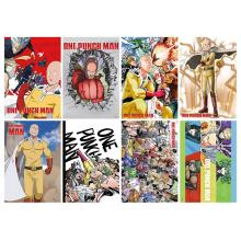 One Punch Man posters(8pcs a set)